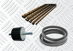 V-Belts, Pulleys, Chains, Anti-Vibration Mounts