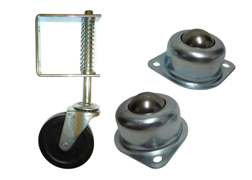 Castors Adjustable Feet Pneumatic Wheels Bearings
